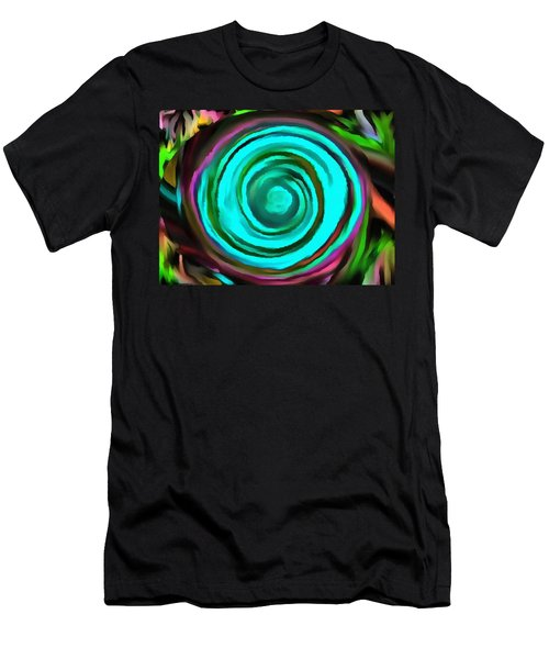 Men's T-Shirt (Slim Fit) featuring the digital art Pulled by Catherine Lott