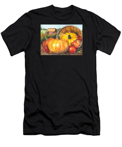 Pumpkin Pickin Men's T-Shirt (Athletic Fit)