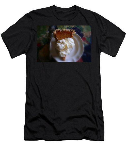 Pumpkin Pie A' La Mode Men's T-Shirt (Slim Fit) by Kay Novy