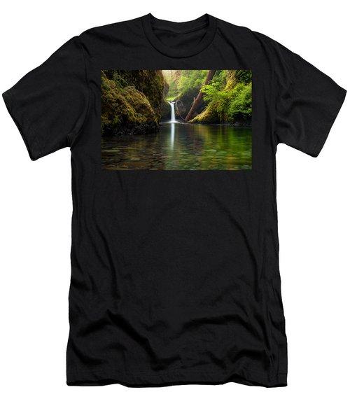 Punch Bowl Falls Men's T-Shirt (Athletic Fit)