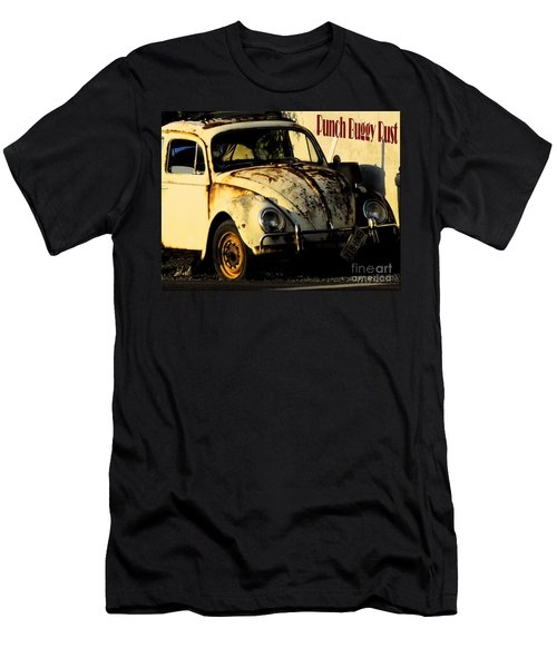 Punch Buggy Rust Men's T-Shirt (Athletic Fit)