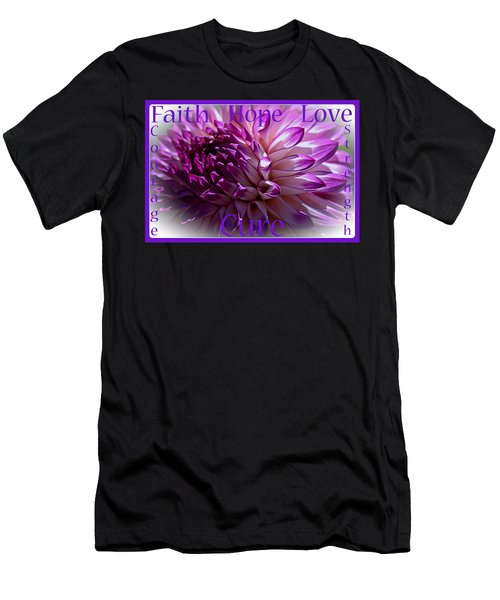 Purple Awareness Support Men's T-Shirt (Athletic Fit)