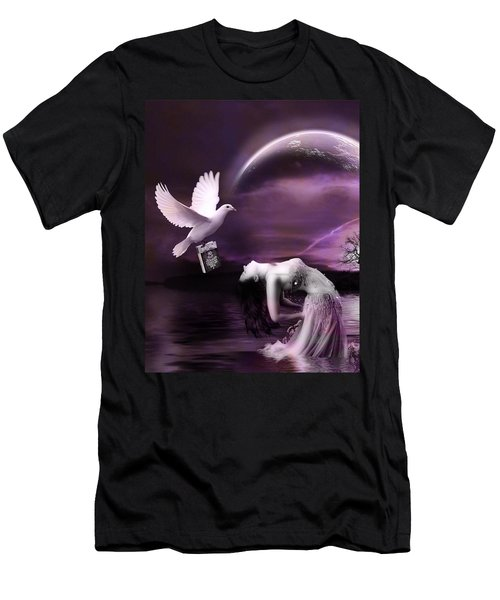 Purple Dream Men's T-Shirt (Athletic Fit)