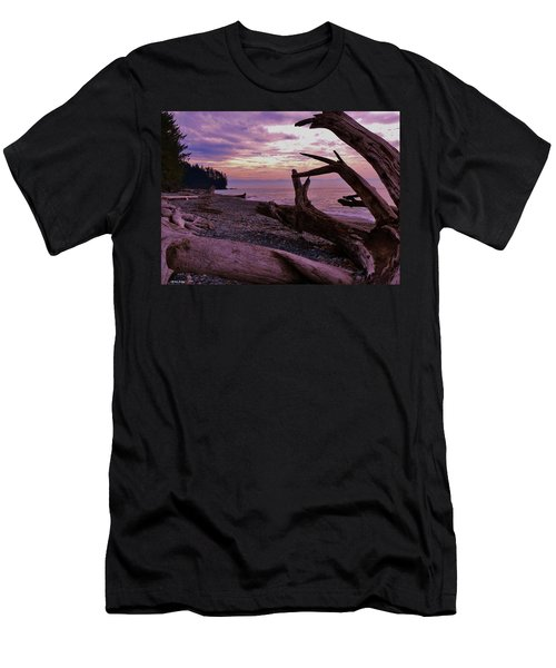 Purple Dreams In Bc Men's T-Shirt (Slim Fit) by Barbara St Jean