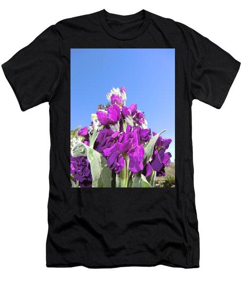 Purple Glow 2 Men's T-Shirt (Athletic Fit)