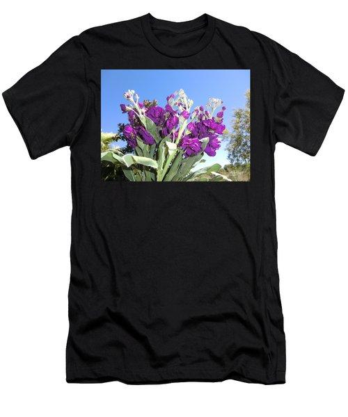 Purple Glow Men's T-Shirt (Athletic Fit)