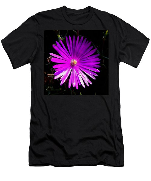 Purple Glow Men's T-Shirt (Slim Fit) by Pamela Walton