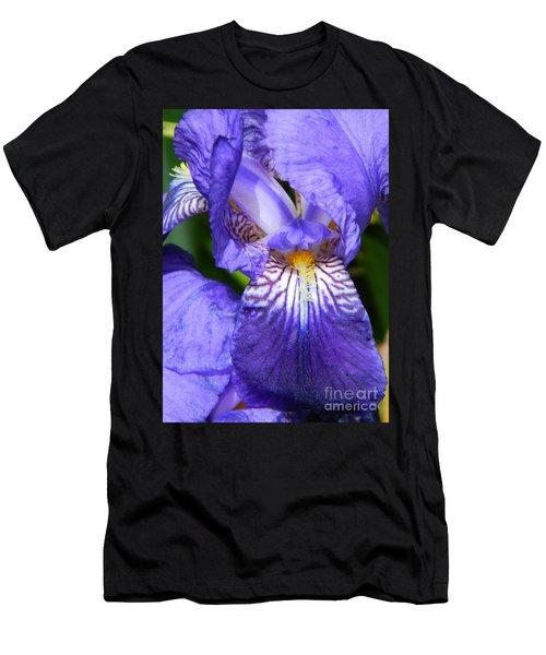 Purple Iris Men's T-Shirt (Athletic Fit)