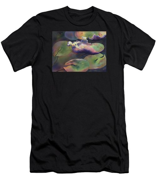 Purple Linings II Men's T-Shirt (Athletic Fit)