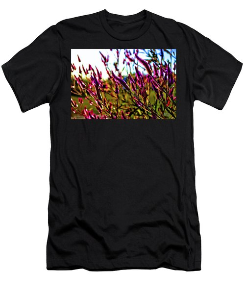 Men's T-Shirt (Athletic Fit) featuring the photograph Purpleness by Tyson Kinnison