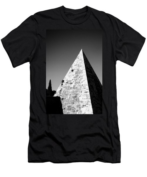 Pyramid Of Cestius Men's T-Shirt (Athletic Fit)