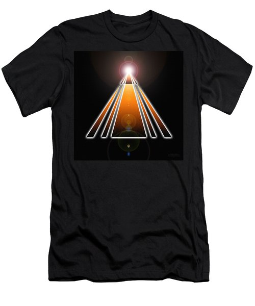Pyramid Of Light Men's T-Shirt (Athletic Fit)