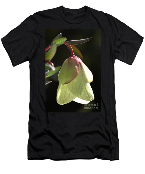 Qualup Bell Flower  Men's T-Shirt (Slim Fit) by Joy Watson