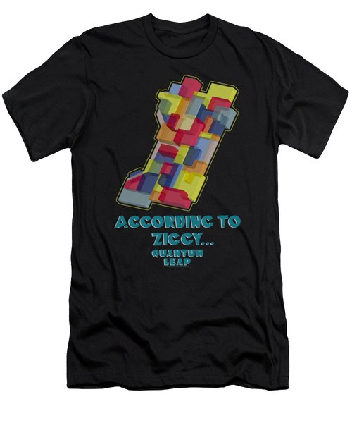 Quantum Leap - According To Ziggy Men's T-Shirt (Athletic Fit)