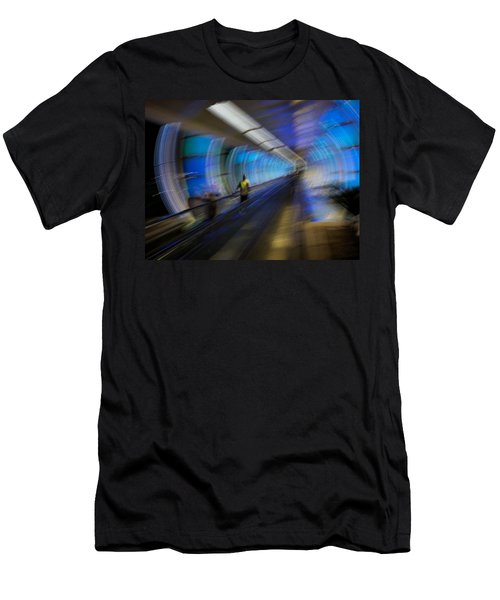 Men's T-Shirt (Slim Fit) featuring the photograph Quantum Tunneling by Alex Lapidus
