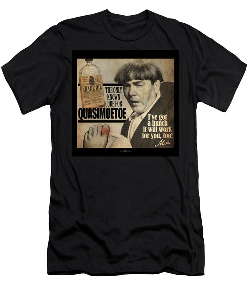 Quasimoetoe Poster Men's T-Shirt (Athletic Fit)