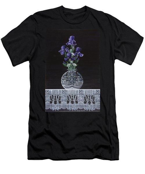 Queen Iris's Lace Men's T-Shirt (Athletic Fit)