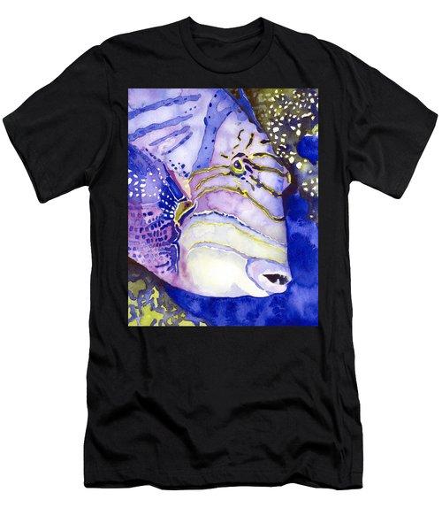 Queen Triggerfish Portrait Men's T-Shirt (Athletic Fit)
