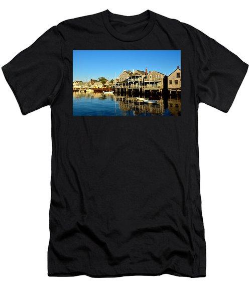 Quiet Harbor Men's T-Shirt (Athletic Fit)