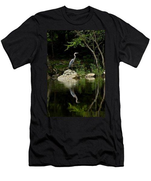 Quiet Waters Men's T-Shirt (Athletic Fit)