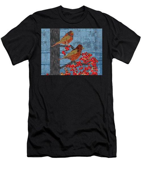 Sagebrush Sparrow Short Men's T-Shirt (Athletic Fit)
