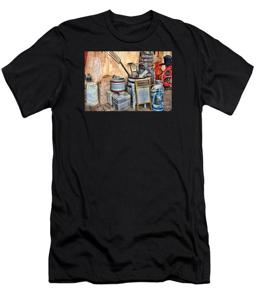 Quitting Time By Diana Sainz Men's T-Shirt (Athletic Fit)