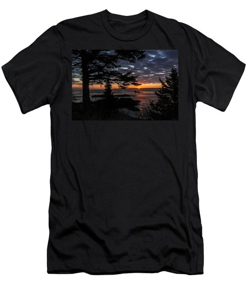Quoddy Sunrise Men's T-Shirt (Athletic Fit)