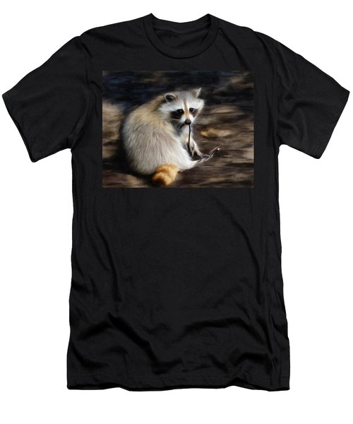 Racoon Men's T-Shirt (Athletic Fit)