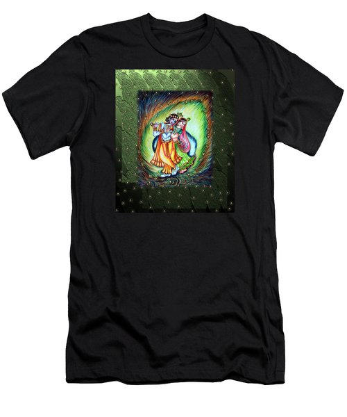 Radha Krishna Men's T-Shirt (Slim Fit)