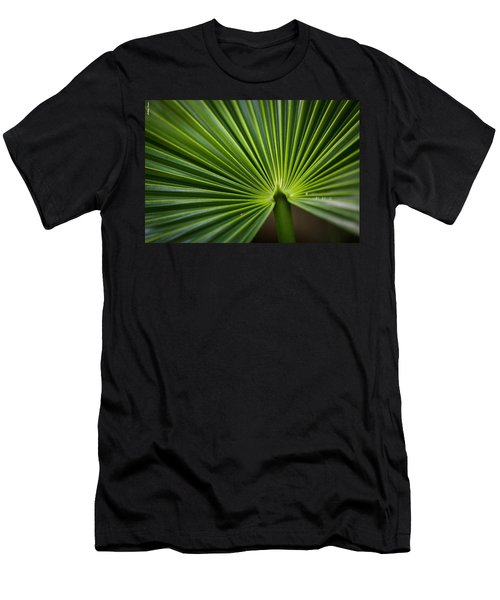 Radial Greens Men's T-Shirt (Athletic Fit)