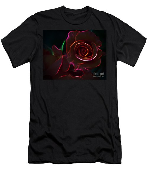 Radiant Rose  Men's T-Shirt (Athletic Fit)