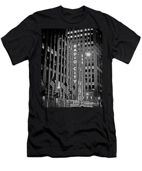 Radio City Music Hall Men's T-Shirt (Athletic Fit)