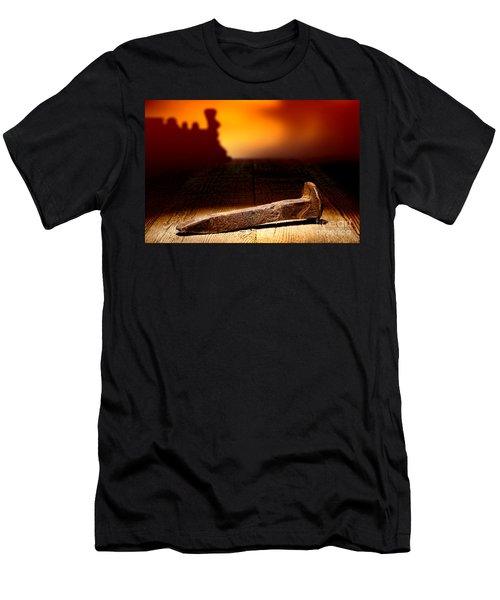 Railroad Spike Men's T-Shirt (Athletic Fit)