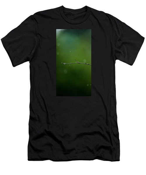Rain Bokeh Men's T-Shirt (Slim Fit) by Shelby  Young