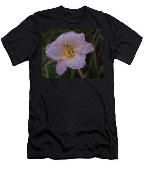 Rain Daylilly 2 Men's T-Shirt (Athletic Fit)