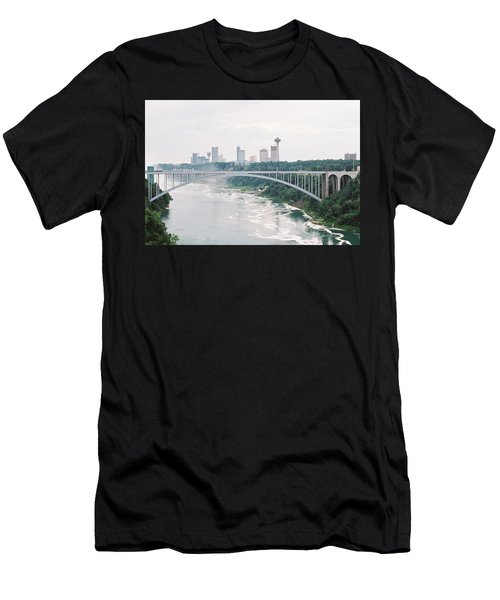 Rainbow Bridge Men's T-Shirt (Athletic Fit)