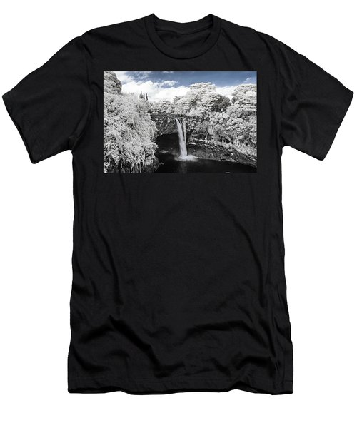 Rainbow Falls In Infrared 2 Men's T-Shirt (Athletic Fit)