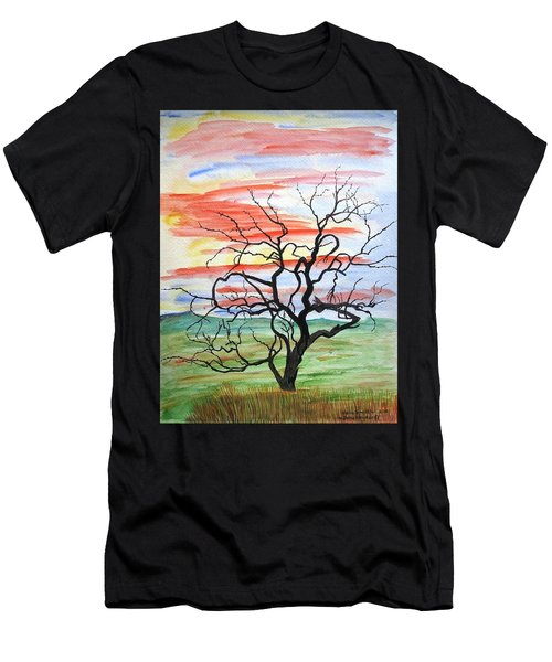 Rainbow Mesquite Men's T-Shirt (Athletic Fit)