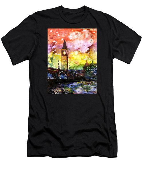 Rainbow Of Fruit Flavors Men's T-Shirt (Slim Fit) by Ryan Fox