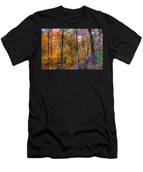 Rainbow Woods Men's T-Shirt (Athletic Fit)