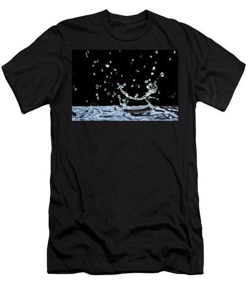 Raindrop Men's T-Shirt (Athletic Fit)