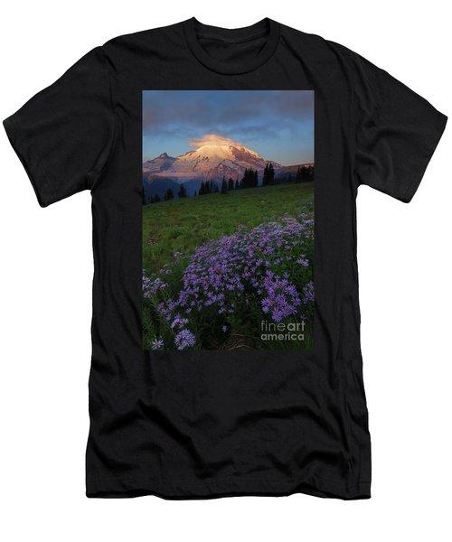 Rainier Morning Cap Men's T-Shirt (Athletic Fit)
