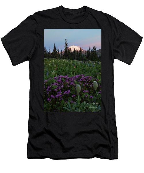Rainier Pastel Dawn Men's T-Shirt (Athletic Fit)