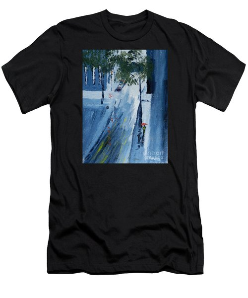Raining Again Men's T-Shirt (Athletic Fit)
