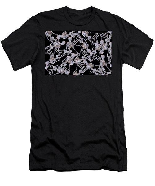 Raining Skeletons Men's T-Shirt (Athletic Fit)