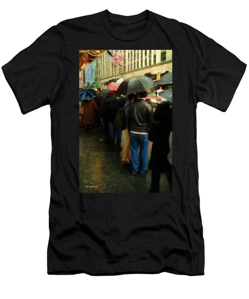Rainy Afternoon On Broadway Men's T-Shirt (Athletic Fit)