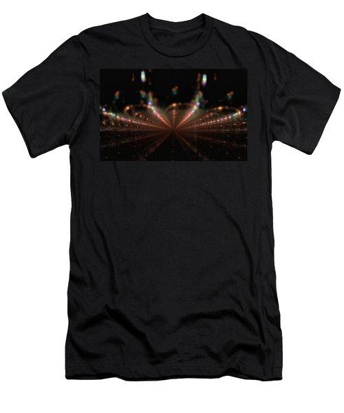 Rainy City Night Men's T-Shirt (Athletic Fit)