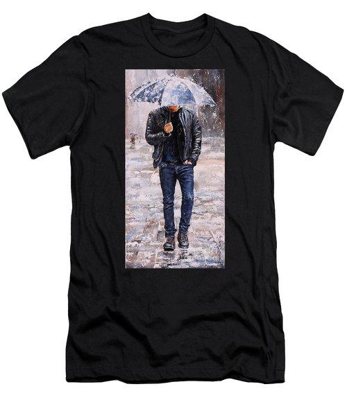 Rainy Day #23 Men's T-Shirt (Athletic Fit)