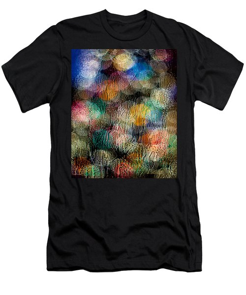 Rainy Day Christmas Men's T-Shirt (Slim Fit) by Aaron Aldrich