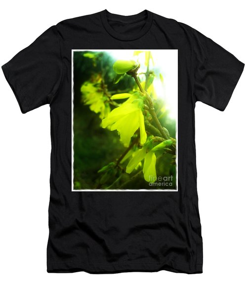 Men's T-Shirt (Slim Fit) featuring the photograph Rainy Dream by Nina Ficur Feenan